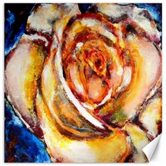Abstract Rose Canvas 16  X 16