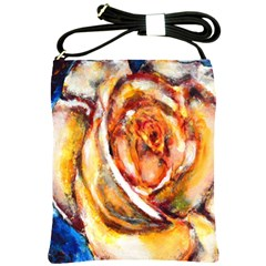 Abstract Rose Shoulder Sling Bags by timelessartoncanvas