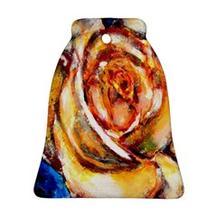 Abstract Rose Ornament (bell)  by timelessartoncanvas
