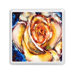 Abstract Rose Memory Card Reader (square)