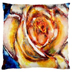Abstract Rose Large Cushion Cases (two Sides)  by timelessartoncanvas