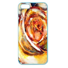 Abstract Rose Apple Seamless Iphone 5 Case (color)
