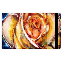 Abstract Rose Apple Ipad 3/4 Flip Case by timelessartoncanvas