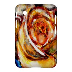 Abstract Rose Samsung Galaxy Tab 2 (7 ) P3100 Hardshell Case  by timelessartoncanvas
