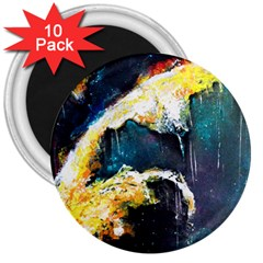 Abstract Space Nebula 3  Magnets (10 Pack)  by timelessartoncanvas