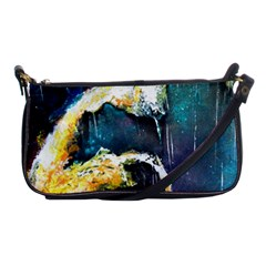 Abstract Space Nebula Shoulder Clutch Bags by timelessartoncanvas