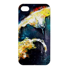 Abstract Space Nebula Apple Iphone 4/4s Premium Hardshell Case by timelessartoncanvas