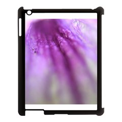 Purple Flower Pedal Apple Ipad 3/4 Case (black) by timelessartoncanvas