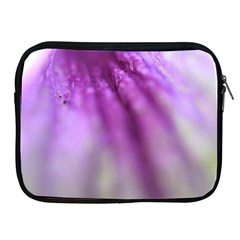 Purple Flower Pedal Apple Ipad 2/3/4 Zipper Cases by timelessartoncanvas