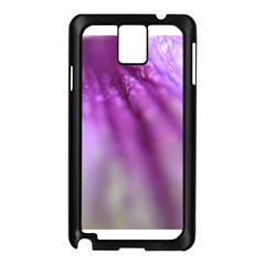 Purple Flower Pedal Samsung Galaxy Note 3 N9005 Case (black) by timelessartoncanvas