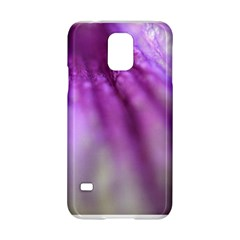 Purple Flower Pedal Samsung Galaxy S5 Hardshell Case  by timelessartoncanvas