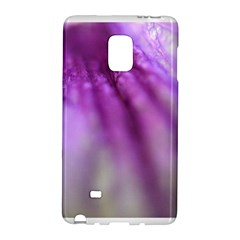 Purple Flower Pedal Galaxy Note Edge by timelessartoncanvas