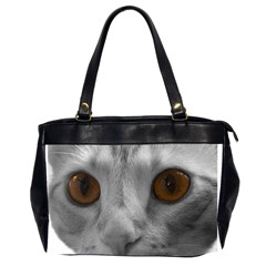 Funny Cat Office Handbags (2 Sides)  by timelessartoncanvas