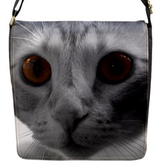 Funny Cat Flap Messenger Bag (s) by timelessartoncanvas