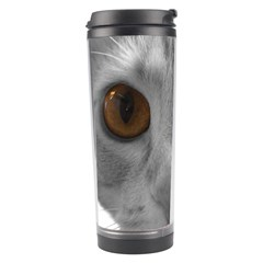 Funny Cat Travel Tumblers by timelessartoncanvas