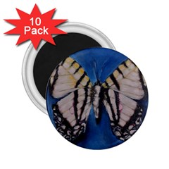 Butterfly 2 25  Magnets (10 Pack)  by timelessartoncanvas
