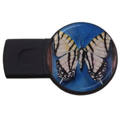 Butterfly Usb Flash Drive Round (4 Gb)  by timelessartoncanvas