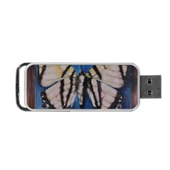 Butterfly Portable Usb Flash (two Sides) by timelessartoncanvas