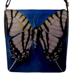 Butterfly Flap Messenger Bag (s) by timelessartoncanvas