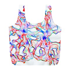 Soul Colour Light Full Print Recycle Bags (l)  by InsanityExpressed