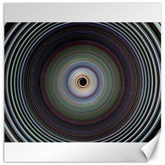 Colour Twirl Canvas 16  X 16   by InsanityExpressed