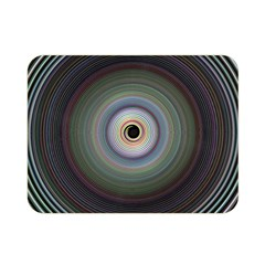 Colour Twirl Double Sided Flano Blanket (mini)