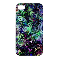 Colour Play Flowers Apple Iphone 4/4s Hardshell Case by InsanityExpressed