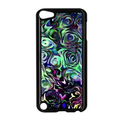 Colour Play Flowers Apple Ipod Touch 5 Case (black) by InsanityExpressed