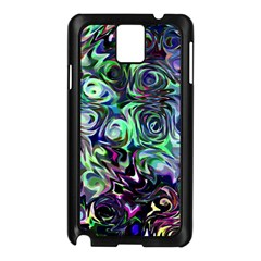 Colour Play Flowers Samsung Galaxy Note 3 N9005 Case (black) by InsanityExpressed