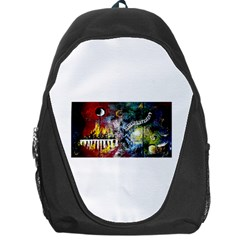 Abstract Music Painting Backpack Bag