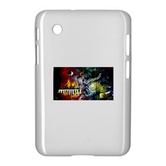 Abstract Music Painting Samsung Galaxy Tab 2 (7 ) P3100 Hardshell Case  by timelessartoncanvas