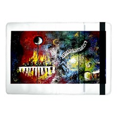 Abstract Music Painting Samsung Galaxy Tab Pro 10 1  Flip Case by timelessartoncanvas