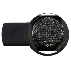 Modern Microphone Usb Flash Drive Round (2 Gb)  by timelessartoncanvas