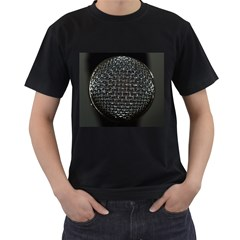Modern Microphone Men s T Shirt (black) by timelessartoncanvas