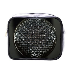 Modern Microphone Mini Toiletries Bags