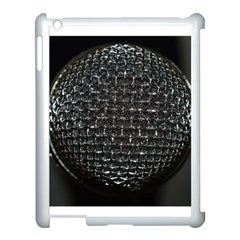 Modern Microphone Apple Ipad 3/4 Case (white) by timelessartoncanvas