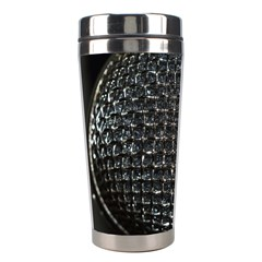 Modern Microphone Stainless Steel Travel Tumblers by timelessartoncanvas