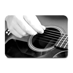 Guitar Player Plate Mats by timelessartoncanvas
