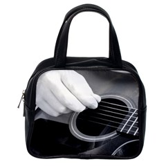 Guitar Player Classic Handbags (one Side)