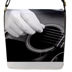 Guitar Player Flap Messenger Bag (s)
