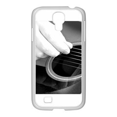 Guitar Player Samsung Galaxy S4 I9500/ I9505 Case (white) by timelessartoncanvas