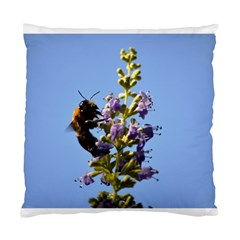 Bumble Bee 1 Standard Cushion Cases (two Sides)  by timelessartoncanvas