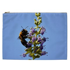 Bumble Bee 1 Cosmetic Bag (xxl)  by timelessartoncanvas