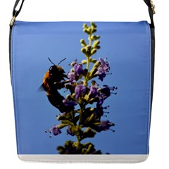 Bumble Bee 1 Flap Messenger Bag (s) by timelessartoncanvas
