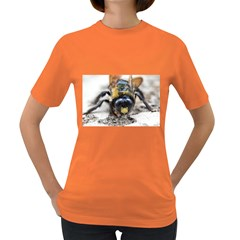 Bumble Bee 2 Women s Dark T Shirt by timelessartoncanvas