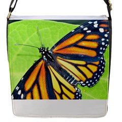 Butterfly 2 Flap Messenger Bag (s) by timelessartoncanvas