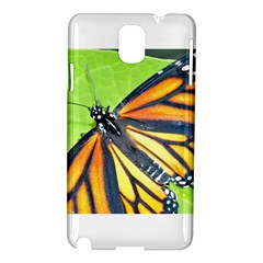 Butterfly 2 Samsung Galaxy Note 3 N9005 Hardshell Case by timelessartoncanvas