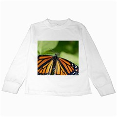 Butterfly 3 Kids Long Sleeve T Shirts by timelessartoncanvas