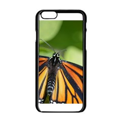 Butterfly 3 Apple Iphone 6 Black Enamel Case