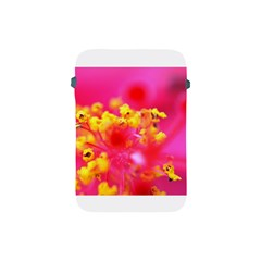 Bright Pink Hibiscus Apple Ipad Mini Protective Soft Cases by timelessartoncanvas